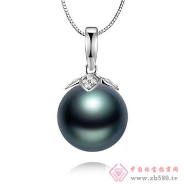 物语珍珠-大溪地黑珍珠吊坠02