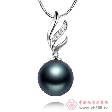 物语珍珠-大溪地黑珍珠吊坠05