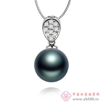 物语珍珠-大溪地黑珍珠吊坠01