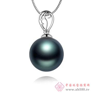 物语珍珠-大溪地黑珍珠吊坠12