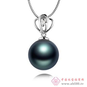 物语珍珠-大溪地黑珍珠吊坠09