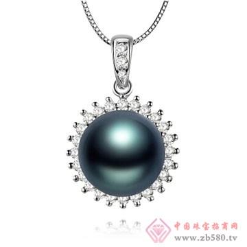 物语珍珠-大溪地黑珍珠吊坠06