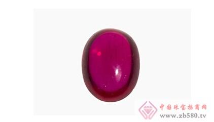 """血红色的红宝石最受人们珍爱,俗称""""鸽血红""""."""