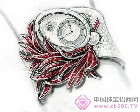世界大牌珠宝设计手绘图