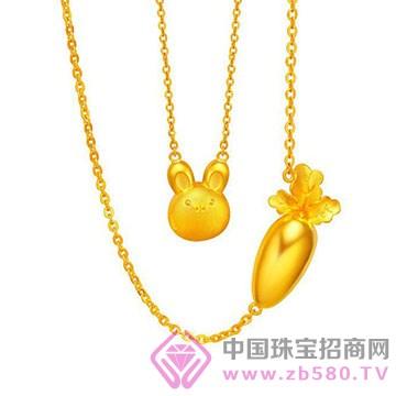 鹏城珠宝-卡通系列-黄金吊坠8
