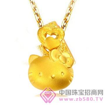 鹏城珠宝-卡通系列-黄金吊坠2
