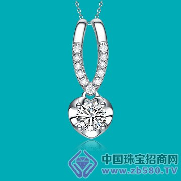 永恒之星-钻石吊坠01