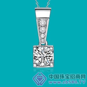 永恒之星-钻石吊坠02