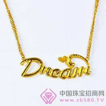 金六福吉祥珠宝-黄金项链02