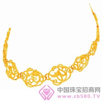 金六福吉祥珠宝-黄金项链01