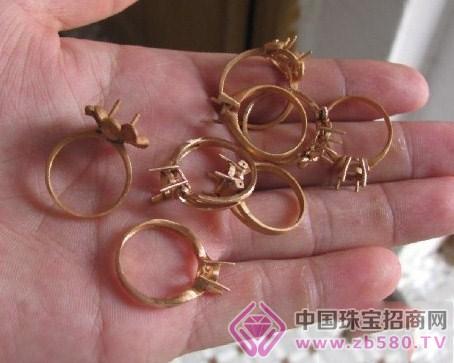 珠宝人才 工艺流程  8(1)抛光电镀(含过震机步骤)    金子有没问题,不