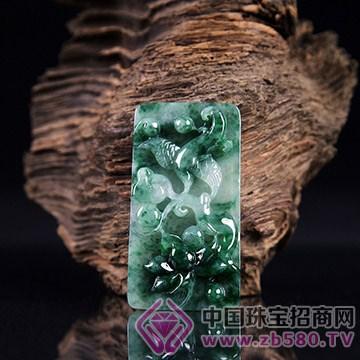 亚芙尼珠宝-翡翠冰绿富贵