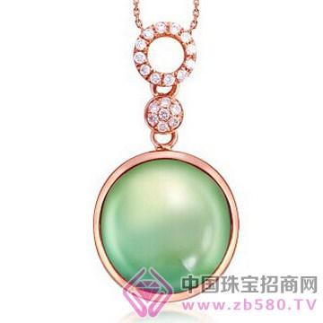 梵希哲珠宝-晶莹心语星-18K玫瑰金