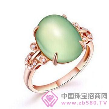 梵希哲珠宝-翠绿缘-18K玫瑰金钻石