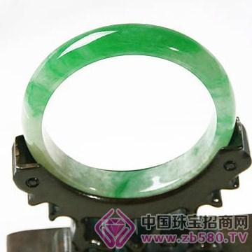 传承翡翠-冰种阳绿手镯