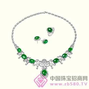港福珠宝—翡翠套链