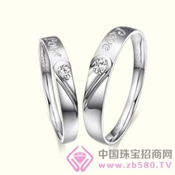 港福珠宝—一心一世界钻石对戒