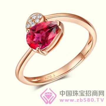港福珠宝—韵彩系列彩宝戒指