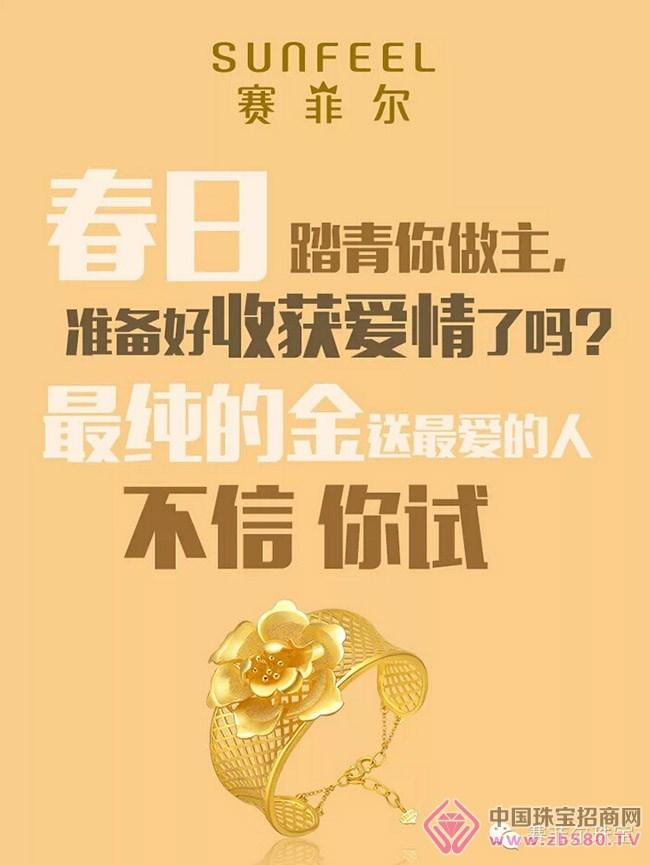 赛菲尔:买最纯的金表达最真的爱,不信你听