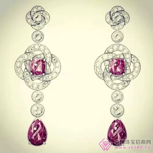 世界大牌珠宝设计手绘图欣赏