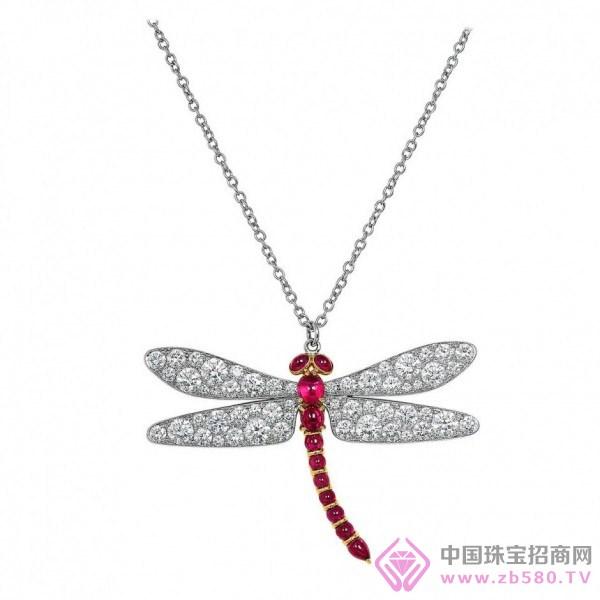 蜻蜓首饰手绘图