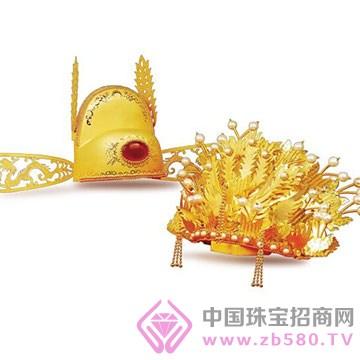 港行珠宝-黄金凤冠霞帔