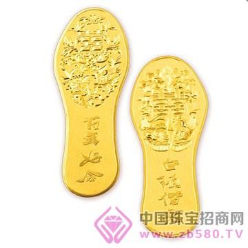 港行珠宝-黄金鞋子