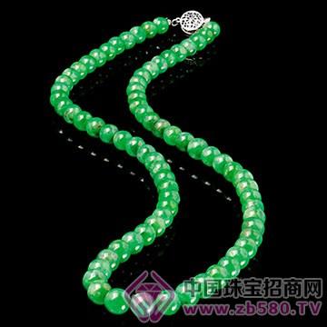 旭麟珠宝-老坑翡翠珠链