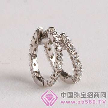 旭麟珠宝-钻石耳环