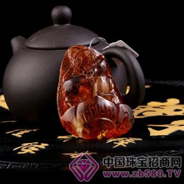 般若·心晶-水晶琥珀