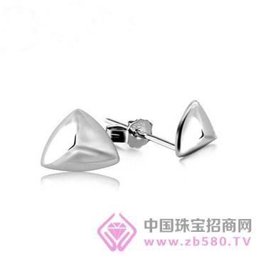 老银坊-镶钻耳钉5