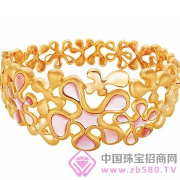百色仟华-纯金婚庆戒指