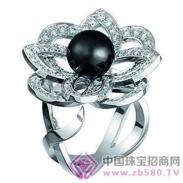 百色仟华-黑珍珠戒指
