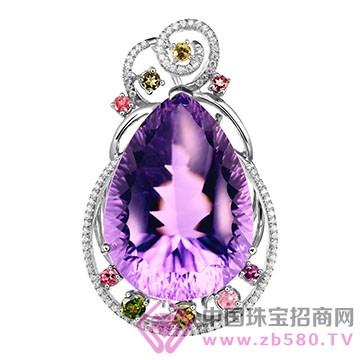 粤福珠宝-彩宝吊坠13