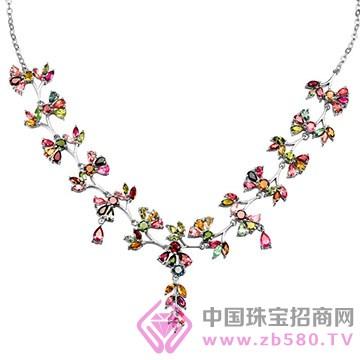 粤福珠宝-彩宝项链