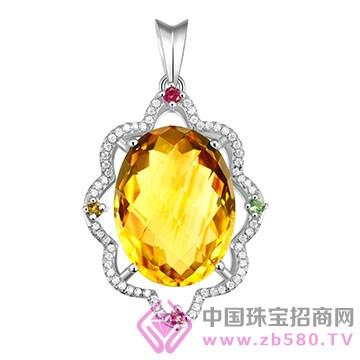 粤福珠宝-彩宝吊坠10