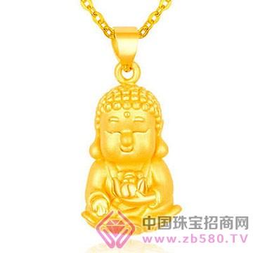 高桥晶佳珠宝城-黄金吊坠3