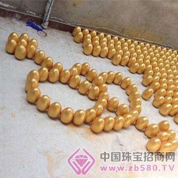 吉祥金蛋—石膏金蛋10