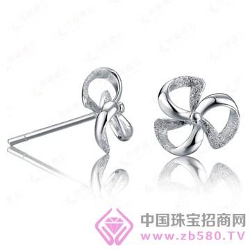 百年福牌珠宝-铂金耳钉01