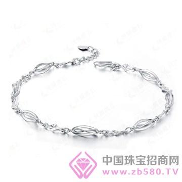 百年福牌珠宝-铂金手链01