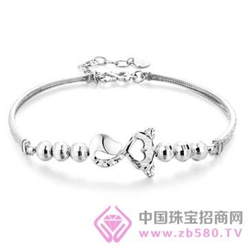 百年福牌珠宝-铂金手镯01