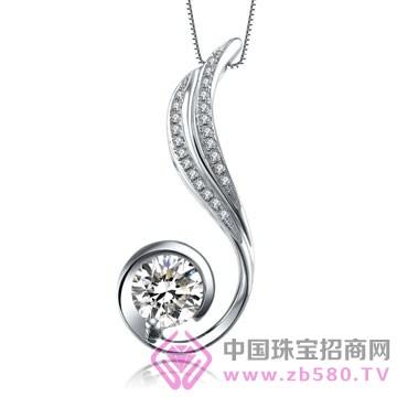 亨福珠宝-钻石吊坠01