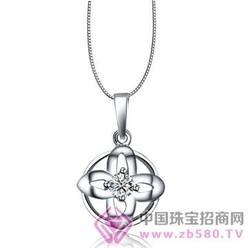 亨福珠宝-钻石吊坠05