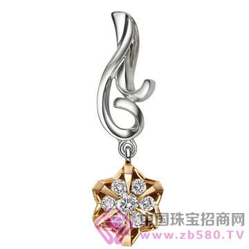 亨福珠宝-钻石吊坠06
