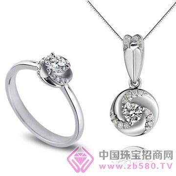 亨福珠宝-钻石吊坠07