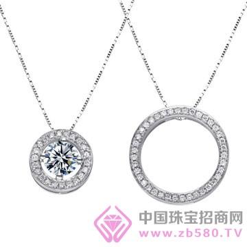 亨福珠宝-钻石吊坠08