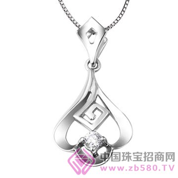 亨福珠宝-钻石吊坠09