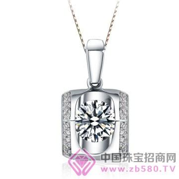 亨福珠宝-钻石吊坠10