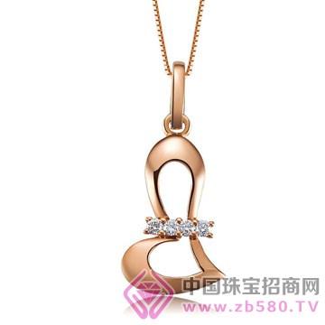 亨福珠宝-钻石吊坠11