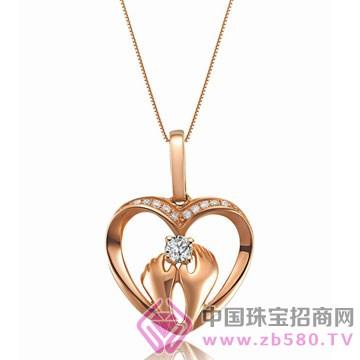 亨福珠宝-钻石吊坠12